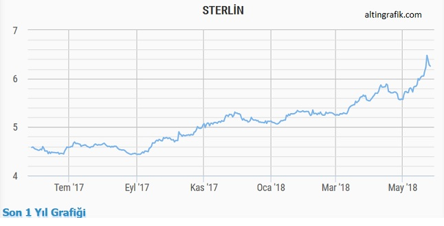sterlin grafik son 1 yıl